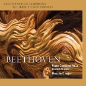 San Francisco Symphony & Michael Tilson Thomas - Beethoven: Piano Concerto No. 3 & Mass in C Major  artwork