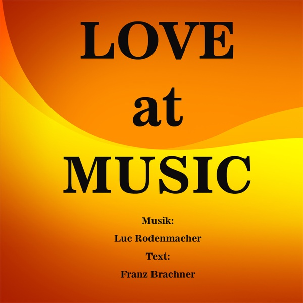 Luc Rodenmacher Love at Music Album Cover