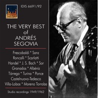 The Very Best of Andrés Segovia - Andrés Segovia MP3