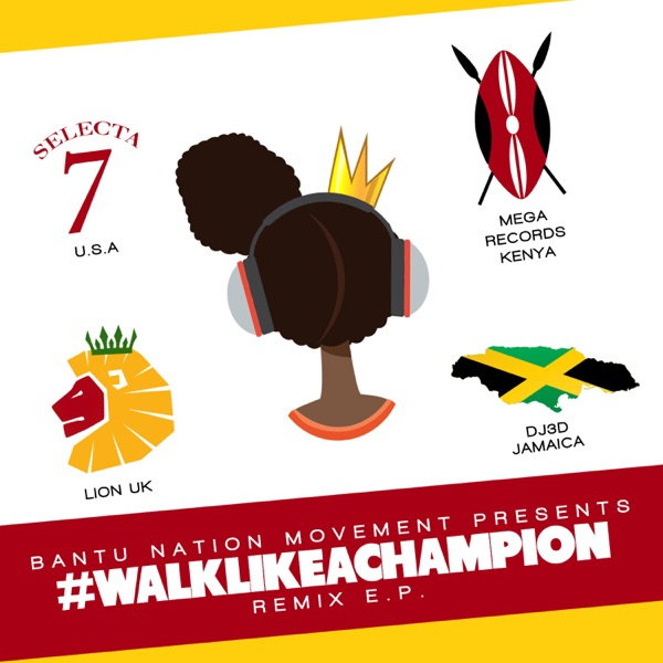 King Mas - Walk Like a Champion (The Remixes)