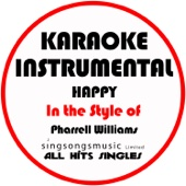 Happy (In the Style of Pharrell Williams) [Karaoke Instrumental Version] [Free mp3 Download songs and listen music]