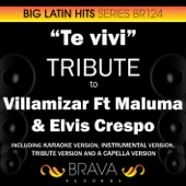Te viví (In the Style of Villamizar) [Karaoke Version]