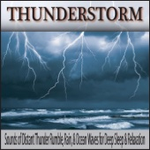 Thunder Sounds With Falling Rain