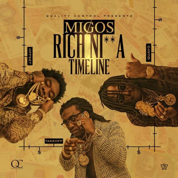 Rich Nia Timeline Migos CD cover