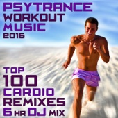 Psy Trance Workout Music 2016 - Top 100 Cardio Remixes 6hr DJ Mix
