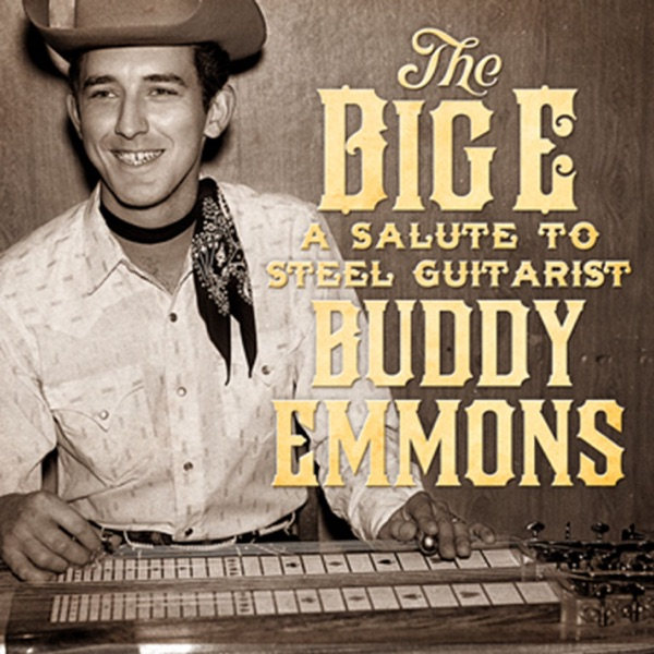 The Big E A Salute to Steel Guitarist Buddy Emmons Various Artists CD cover