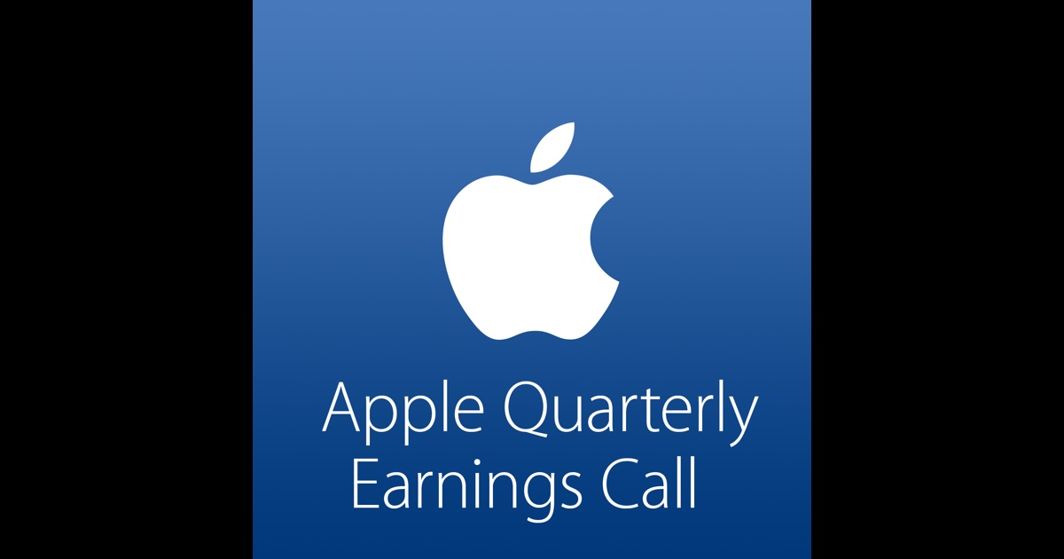 Apple Quarterly Earnings Call by Apple on iTunes