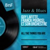 All the Things You Are (Mono Version), Guy Lafitte & Franck Pourcel and His Orchestra