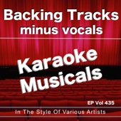 Nothing (In the style of a Chorus Line ) [Backing Track]