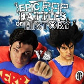 Goku vs Superman - Single cover art