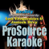 Reality (Originally Performed By Lost Frequencies & Janieck Devy) [Instrumental]