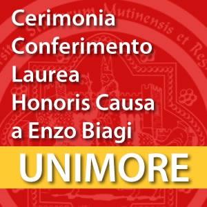 Conferimento di Laurea ad Honorem in Nuovi media e comunicazione multimediale a Enzo Biagi [Video]