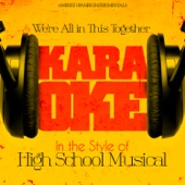 Were All in This Together (In the Style of High School Musical) [Karaoke Version]