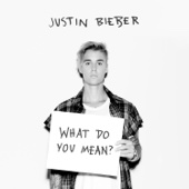 Justin Bieber - What Do You Mean? artwork