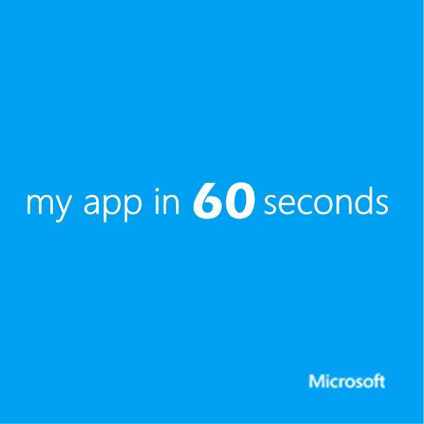 my app in 60 seconds (HD) - Channel 9