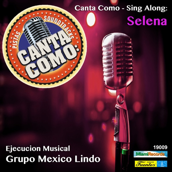 Canta Como - Sing Along Selena Various Artists CD cover