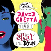 David Guetta - Shot Me Down (feat. Skylar Grey) ilustración
