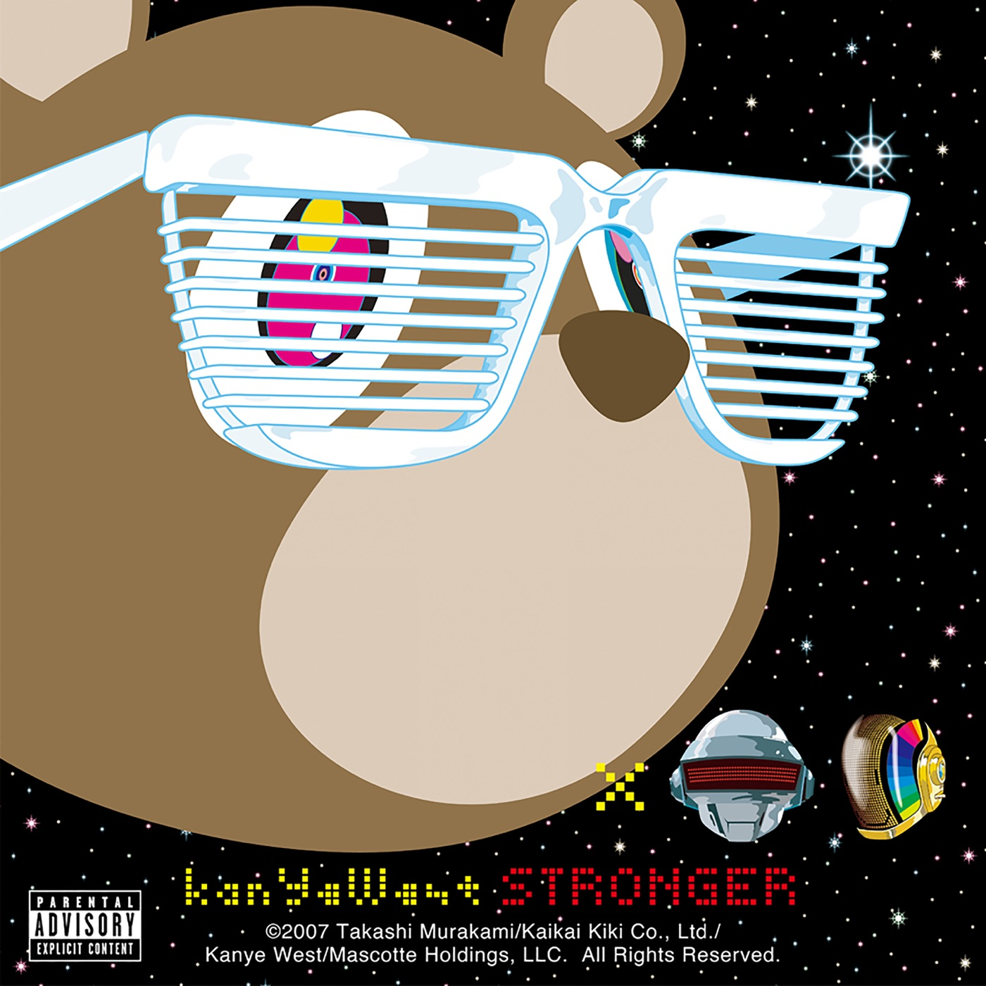 Kanye West - Stronger - Single Cover
