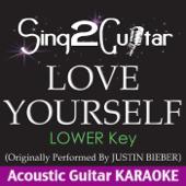 Love Yourself (Lower Key) [Originally Performed by Justin Bieber] [Acoustic Guitar Karaoke]