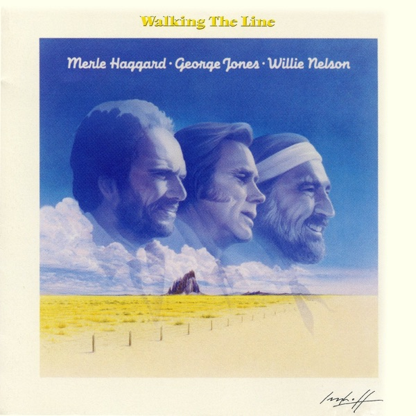 Walking the Line Album Cover by Willie Nelson, Merle ... George Best