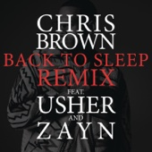 Back To Sleep (REMIX) [feat. Usher & ZAYN] - Single cover art