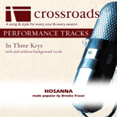 Hosanna (Performance Track Low without Background Vocals in C#)