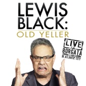 Cover to Lewis Black's Old Yeller: Live at the Borgata