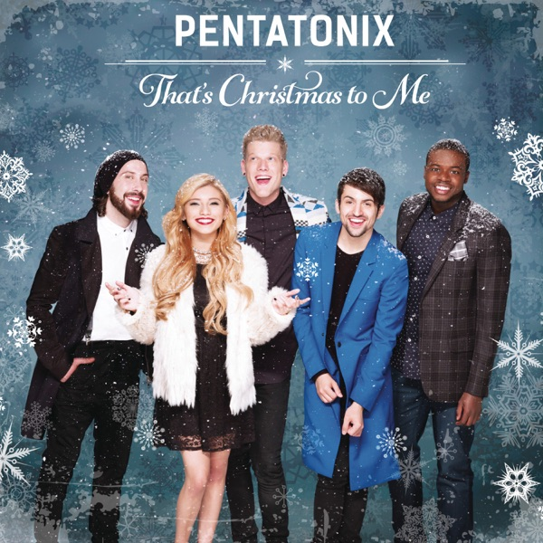 Thats Christmas To Me Pentatonix CD cover