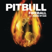 Pitbull - Fireball (feat. John Ryan) artwork