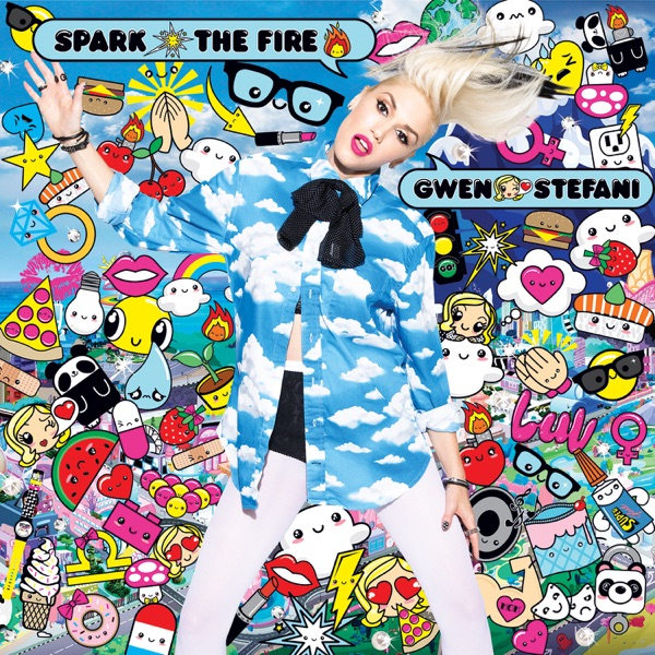 Spark the Fire - Single Gwen Stefani CD cover