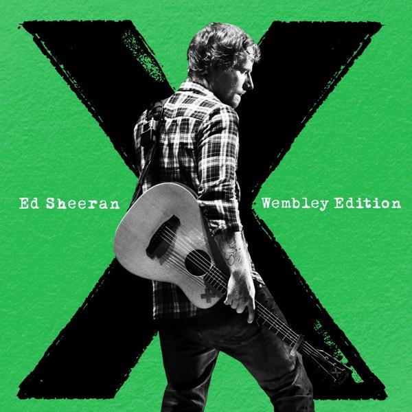 x Wembley Edition Ed Sheeran CD cover