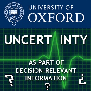 Uncertainty as part of decision-relevant information
