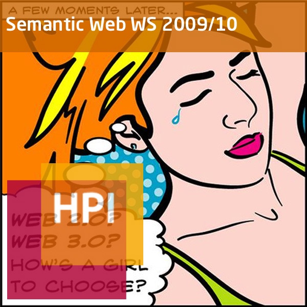 Semantic Web (WS 2009/10) - Created with tele-TASK - more than video! Powered by Hasso Plattner Inst...