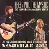 Free / Into the Mystic (feat. Clare Bowen) - Single cover art