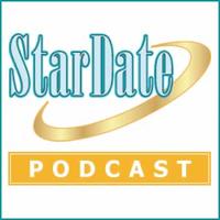 Podcast cover art for StarDate Podcast