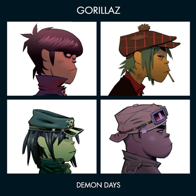 Gorillaz - Demon Days (Collectors Edition) 2016 320kbps