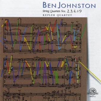 Ben Johnston: String Quartets Nos. 2, 3, 4, & 9 – Kepler Quartet