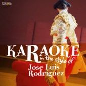 Karaoke - In the Style of José Luis Rodriguez