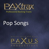 Paxtrax Professional Backing Tracks: Pop Songs