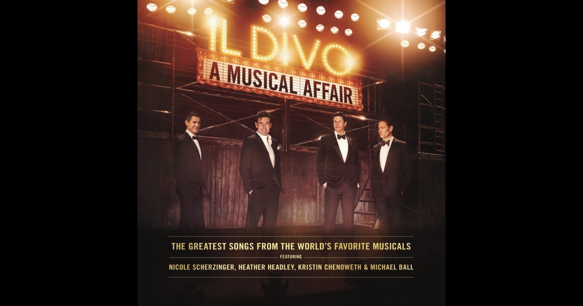 A musical affair by il divo on apple music - Il divo songs ...