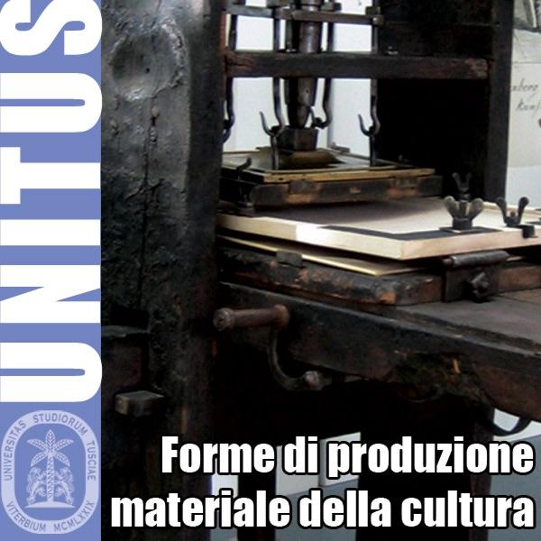Forme di produzione materiale della cultura