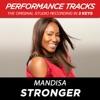 Stronger (Performance Tracks) - EP, Mandisa