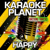 Happy (Karaoke Version with Background Vocals [Originally Performed by Pharrell Williams]