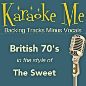 70's Hits (In the Style of Sweet) [Backing Tracks] - EP