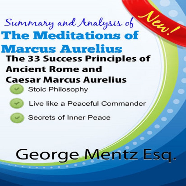 an analysis of meditations