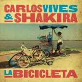 Carlos Vives & Shakira - La Bicicleta illustration
