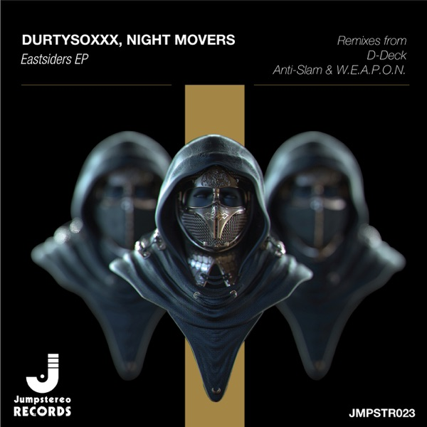 East Siders - EP DurtysoxXx  Night Movers CD cover