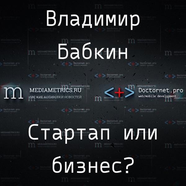 Стартап или бизнес? С Владимиром Бабкиным