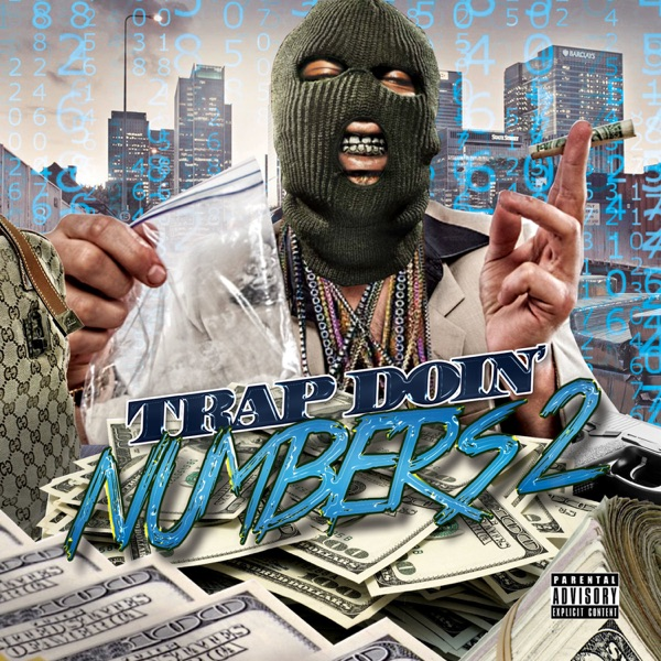 Trap Doin Numbers 2 Various Artists CD cover