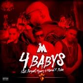 Maluma - Cuatro Babys (feat. Noriel, Bryant Myers & Juhn) ilustración